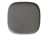 Living & Giving Maxwell & Williams Elemental Square Platter Charcoal 20.5cm