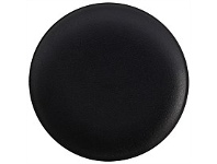 Living & Giving Maxwell & Williams Cavier Coupe Plate Black 20cm