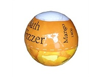 Living & Giving Bath Fizzer Mango 180g