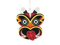 Living & Giving Tribal Tiki Bag Tag