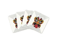 Living & Giving Tribal Tiki Coaster Set of 4