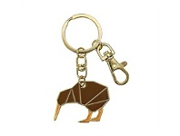 Living & Giving Geometric Kiwi Key Ring