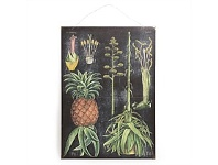 Living & Giving Pineapple Vintage Board 50x70cm