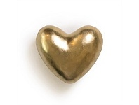 Living & Giving Ceramic Champagne Heart Wall Art 6x5cm