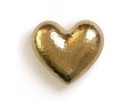 Living & Giving Ceramic Champagne Heart Wall Art 13x12cm