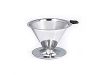 Living & Giving Bialetti Pour Over 2 Cup Filter Stainless Steel