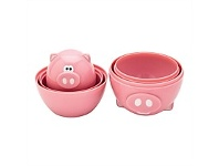 Living & Giving Joie Oink Oink Measuring Cups 6 Piece