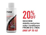 Petstock NZ Seachem Stability And Prime Water Conditioners