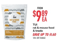 Petstock NZ Tui Rat & Mouse Food & Treats