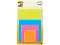 Officeworks Post-It Super Sticky Notes Assorted Sizes Rio De Janeiro 4PK