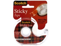 Officeworks Scotch Sticky Tape 12mm x 33m with Dispenser