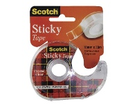 Officeworks Scotch Sticky Tape 18mm x 33m with Dispenser