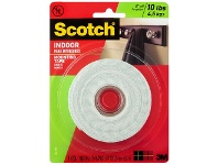 Officeworks Scotch Indoor Mounting Tape 2.5cm x 3.2m