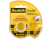 Officeworks Scotch Permanent double-sided Tape 19mm x 7.6m