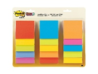 Officeworks Post-it Super Sticky Notes 76x76mm Rio / Marrakesh 15 Pack