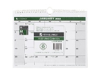 Officeworks At-A-Glance Recycled Desk/Wall 2022 Calendar 279 x 215mm