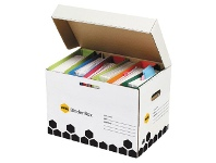 Officeworks Marbig Super Strong Binder Archive Box 5 Pack