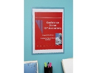 Officeworks Marbig A3 Wall Mount PVC Document Protector