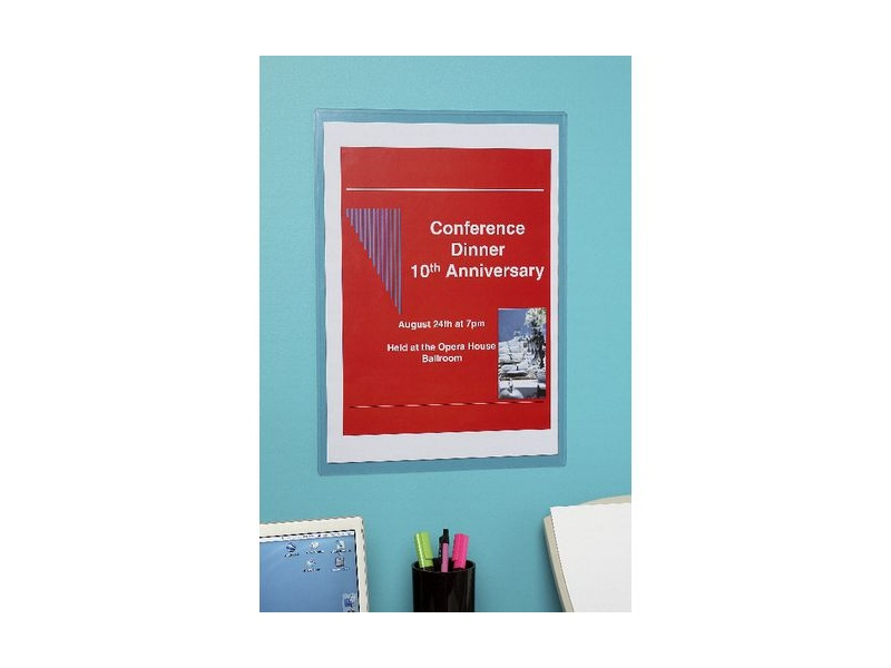Marbig A3 Wall Mount PVC Document Protector