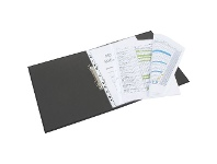 Officeworks Marbig Sheet Protector A3 Fold Out 20 Pack