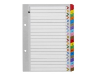 Officeworks Marbig Reinforced A5 A-Z Tab Divider