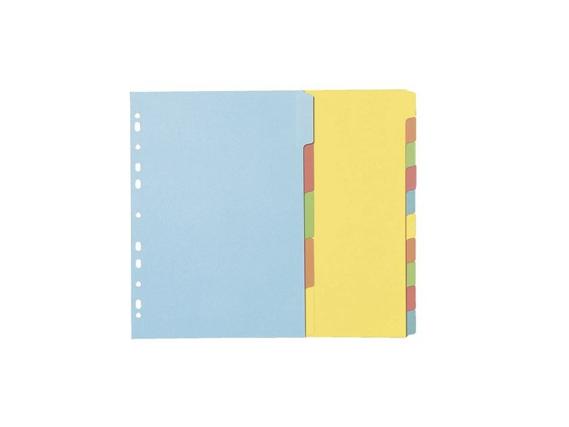 Marbig A4 Erasable Divider with 10 Tabs