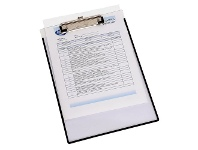 Officeworks Marbig A4 Clearview Clipboard with Insert Cover