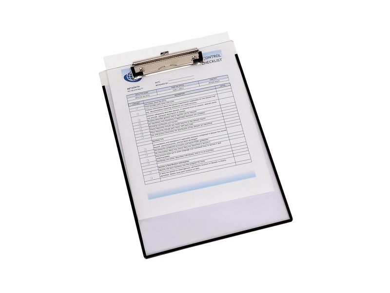 Marbig A4 Clearview Clipboard with Insert Cover