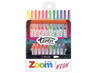 Officeworks Texta Zoom Crayons 12 Pack Neon