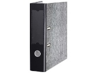 Officeworks Marbig A4 Lever Arch File 2 Ring Black