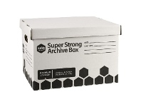 Officeworks Marbig Super Strong Archive Boxes 2 Pack