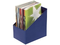 Officeworks Marbig Book Box Large Blue 5 Pack