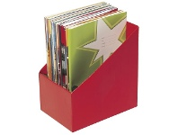 Officeworks Marbig Book Box Large Red 5 Pack