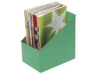 Officeworks Marbig Book Box Large Green 5 Pack