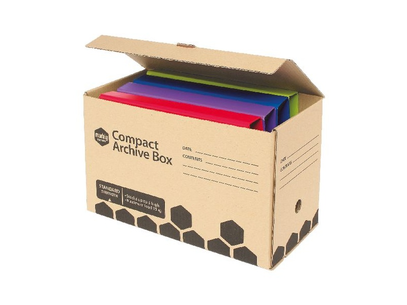 Marbig Compact Half Archive Box 2 Pack