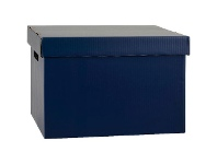 Officeworks Marbig Coloured Archive Box Navy