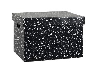 Officeworks Marbig Patterned Archive Box Terrazzo