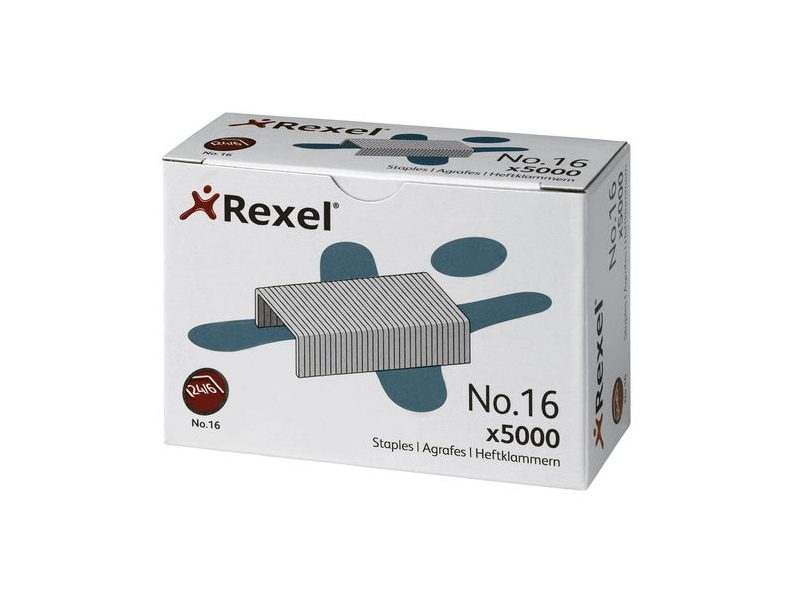 Rexel No. 16 Staples 5000 Pack