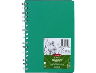 Officeworks Derwent Academy Visual Art Diary 110gsm 120 Pages A5 Green