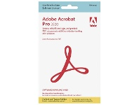 Adobe Acrobat Pro 20 Windows Student Outright Licence Card