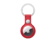 Officeworks Apple AirTag Leather Key Ring (PRODUCT)RED