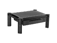 """Officeworks Brateck Height Adjustable Smart 13-32"""" Monitor Drawer Stand"""
