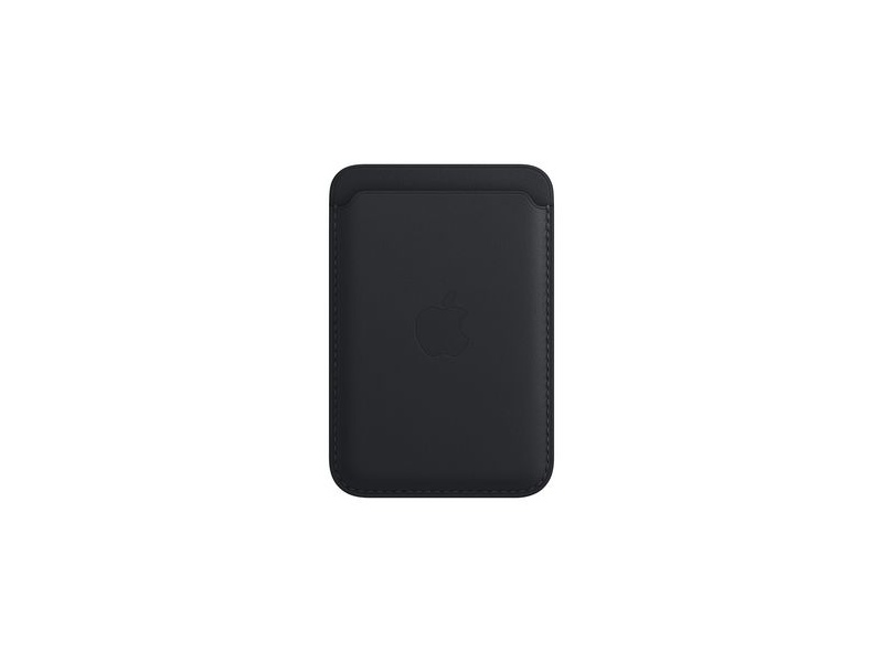 Apple iPhone Leather Wallet with MagSafe Midnight