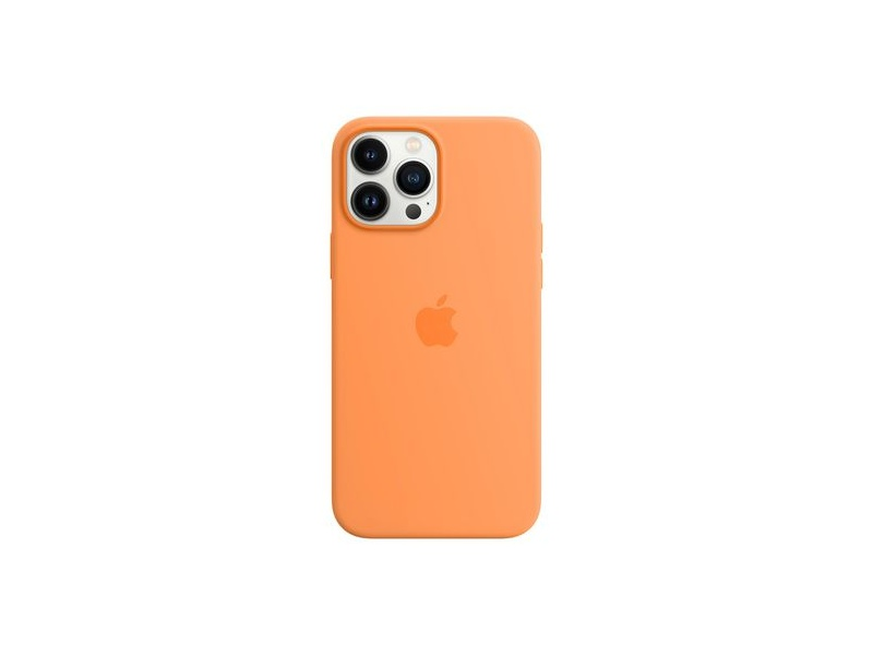 Apple iPhone 13 Pro Max Silicone Case with MagSafe Marigold