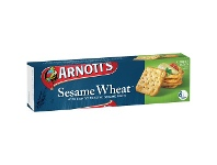 Officeworks Arnotts Arnott's Sesame Wheat Crackers 250g