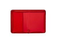 Officeworks AusInc A4 Zipped Document Folder Red