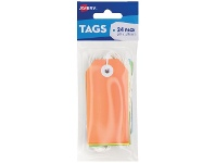 Officeworks Avery Bright Label Tags Multi-Colour 96 x 48mm 24 Pack