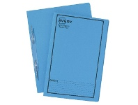 Avery Foolscap Spiral Spring File Blue