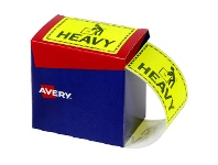 Officeworks Avery Heavy Labels 75 x 99.6mm Yellow 750 Pack