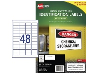 Officeworks Avery L47 Heavy Duty Labels 1200 Pack